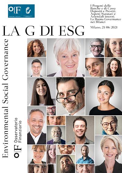 La Cover del report La Bussola G di ESG 2021